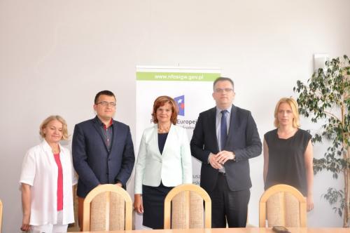 Podpisanie umowy z NFOŚiGW w Warszawie - 2